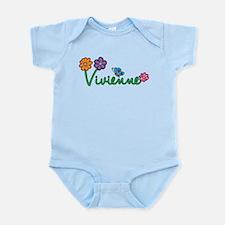 Vivienne Flowers Infant Bodysuit