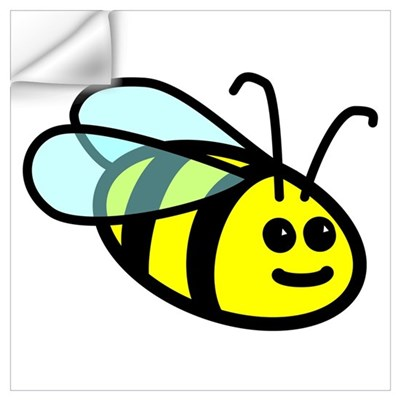 Big Bee Wall Decal