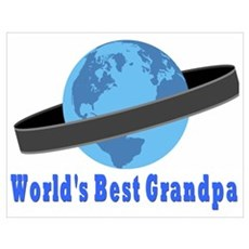 World's Best Grandpa Poster