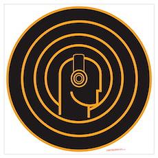 Head Spin DJ Poster