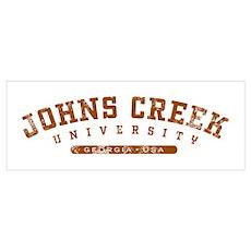 Johns Creek, GA, University Poster