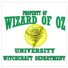 Property of Witchcraft Dept Poster