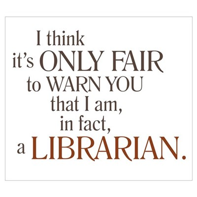 I am a Librarian! Framed Print