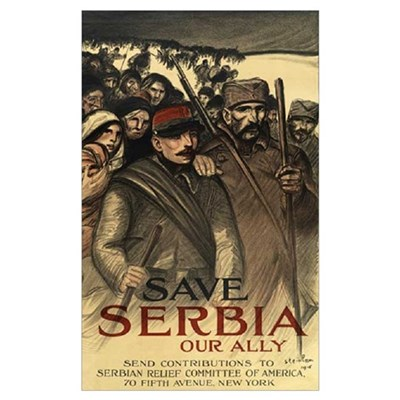 Save Serbia, Our Ally Poster