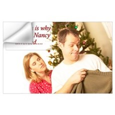 Why John & Nancy Divorced Wall Decal