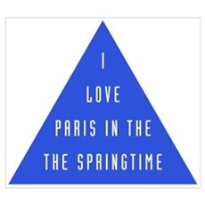I love Paris Canvas Art