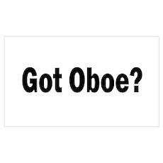 Got Oboe? Poster