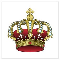 Royal Crown Canvas Art