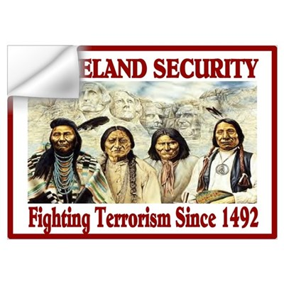 HOMELAND SECURITY Wall Decal