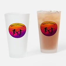 Skinnydipper Logo Drinking Glass