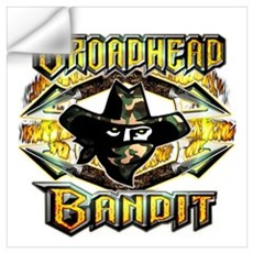 broadhead bandit Wall Decal