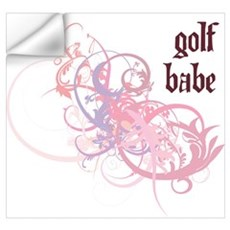 Golf Babe Wall Decal