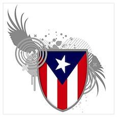 Puerto rican pride Poster