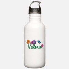 Valerie Flowers Sports Water Bottle