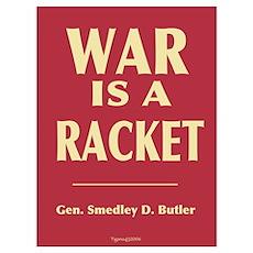 War Is A Racket Poster