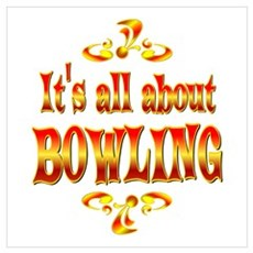 About Bowling Poster