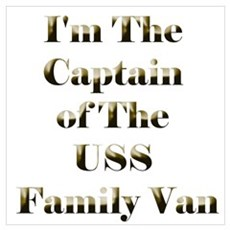 USS Family Van Poster