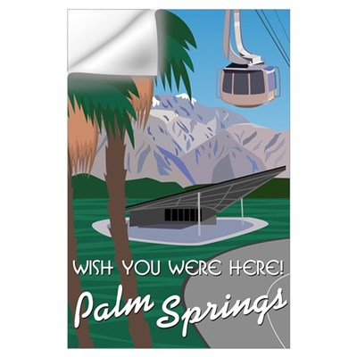 Wish You Were Here: Palm Springs Wall Decal