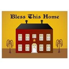 Folk Art Home Poster