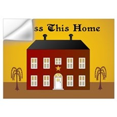 Folk Art Home Wall Decal