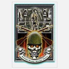 Army National Guard Skull and