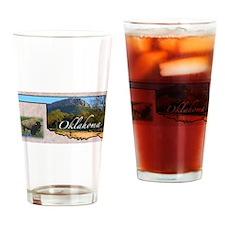Cute Oklahoma Drinking Glass