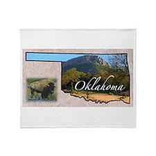 Cute Oklahoma Throw Blanket