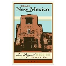 Travel New Mexico Framed Print