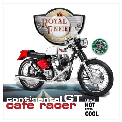 Continental GT Cafe Racer Poster