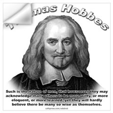 Thomas Hobbes 01 Wall Decal