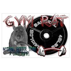 Gym rat Poster