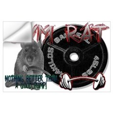 Gym rat Wall Decal