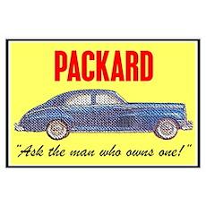 """""""1946 Packard Slogan"""" Poster"""