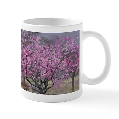 Spring Half Pass Dressage Horse Mug
