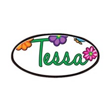 Tessa Flowers Patches