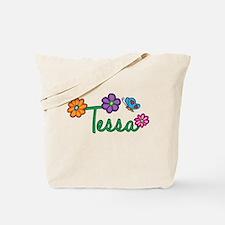 Tessa Flowers Tote Bag