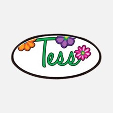Tess Flowers Patches