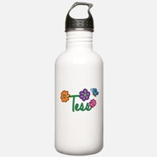 Tess Flowers Water Bottle