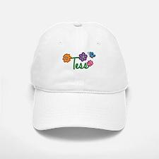 Tess Flowers Baseball Baseball Cap