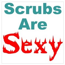 Twisted Imp Scrubs Are Sexy Poster