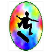 Tie Dye Skater