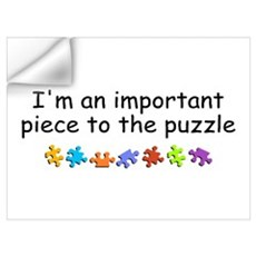 Im An Important Piece To The Puzzle P Wall Decal