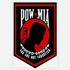 POW MIA (Red)