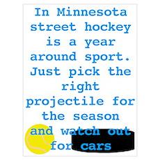 MN Street Hockey Poster