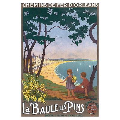 La Baule Les Pins Poster