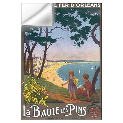 La Baule Les Pins Wall Decal