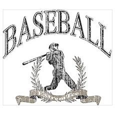 Baseball Retro 02 Poster