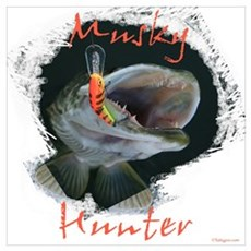 Musky Hunter Poster