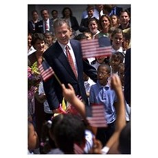George W. and Supporters Poster