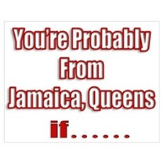 You're Probably From Jamaica, Poster